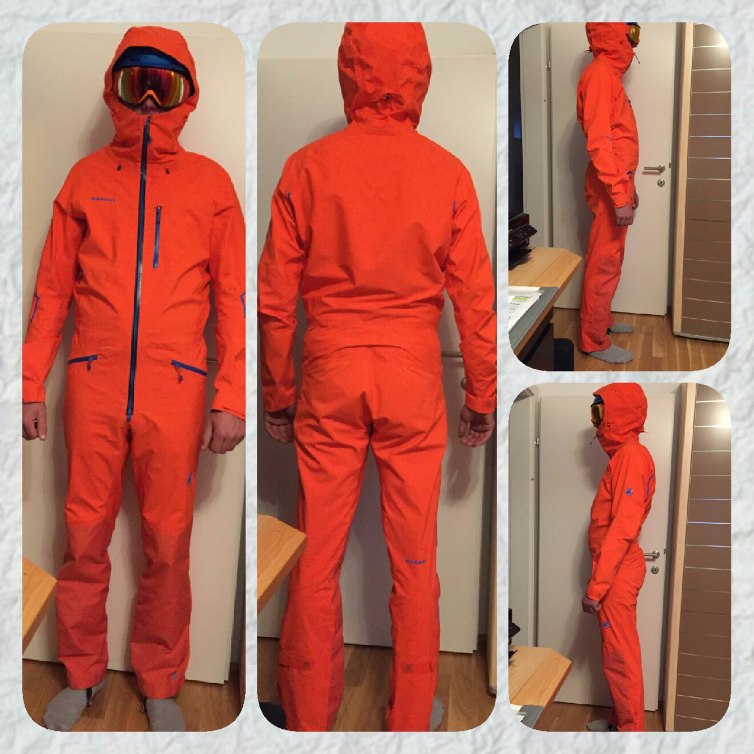 for whole family good hot sale online Mammut Nordwand Pro HS Suit - Overall Men's | Buy online ...