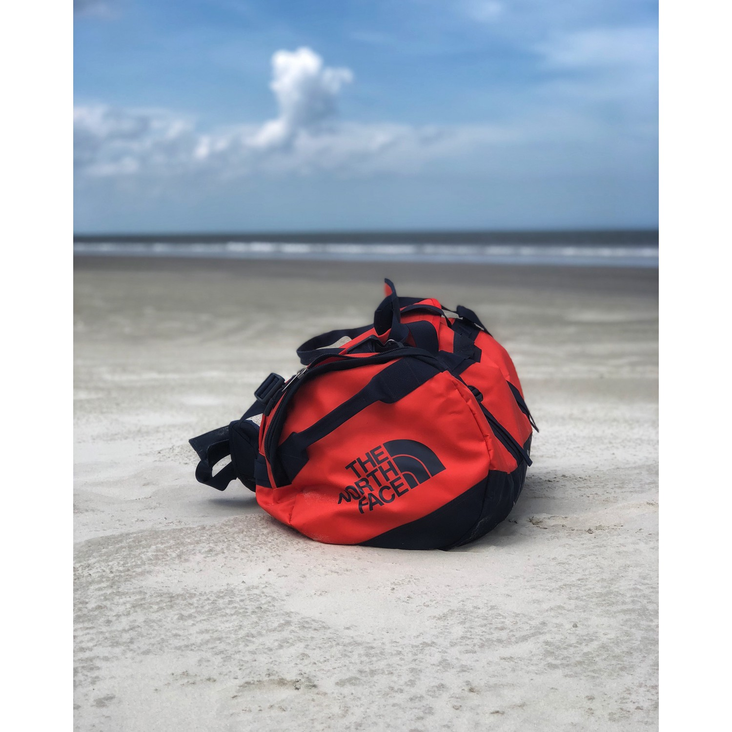 North Eu Camp Free Luggage Face Duffel Base The Medium Delivery PwdqPg