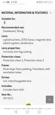 Image 1 from Flavia of Anon - M4 Cylindrical Sonar S3 (VLT 14%) + S2 (VLT 39%)