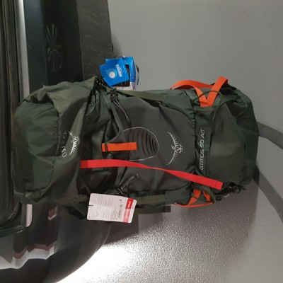Image 2 from alex of Osprey - Atmos AG 50 - Mountaineering backpack