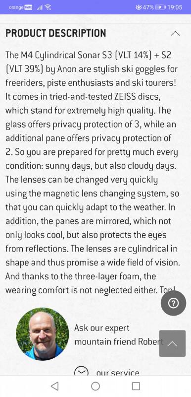 Image 2 from Flavia of Anon - M4 Cylindrical Sonar S3 (VLT 14%) + S2 (VLT 39%)