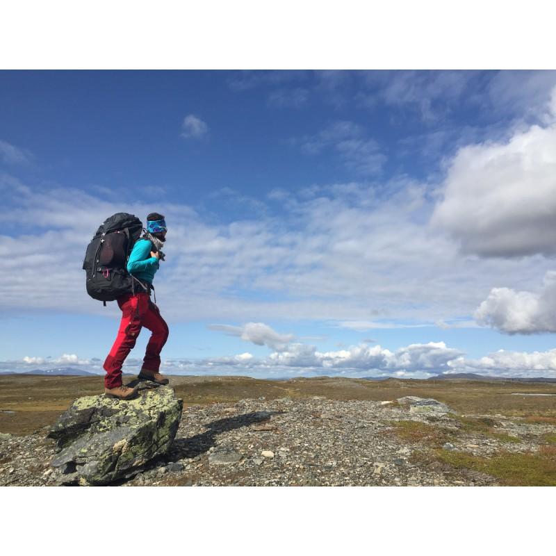 Image 1 from Sandra of Bergans - Trollhetta 75L Lady - Walking backpack