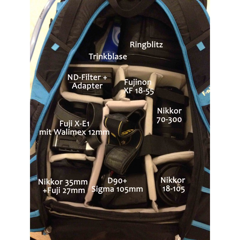 Image 1 from Bettina of F-Stop Gear - Loka UL - Camera backpack
