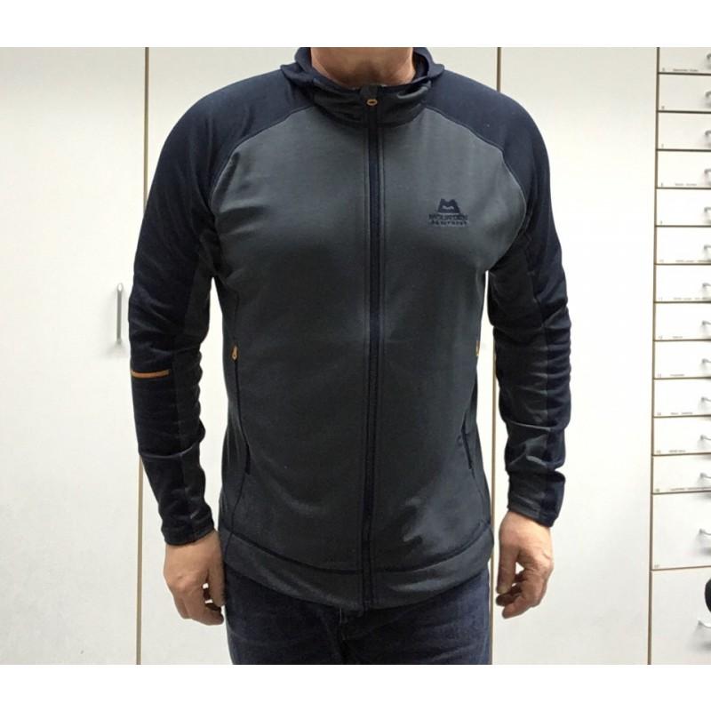 Image 1 from Frank of Mountain Equipment - Flash Hooded Jacket - Fleece jacket