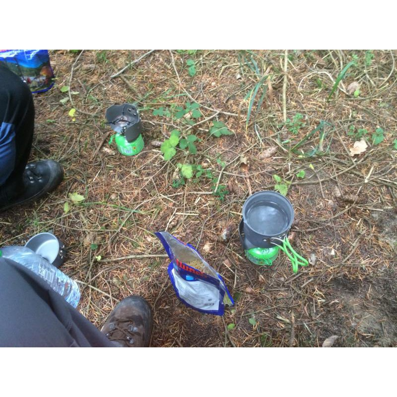 Image 1 from Ralf of Optimus - Crux Lite + Terra Solo cooking set - Gas stove
