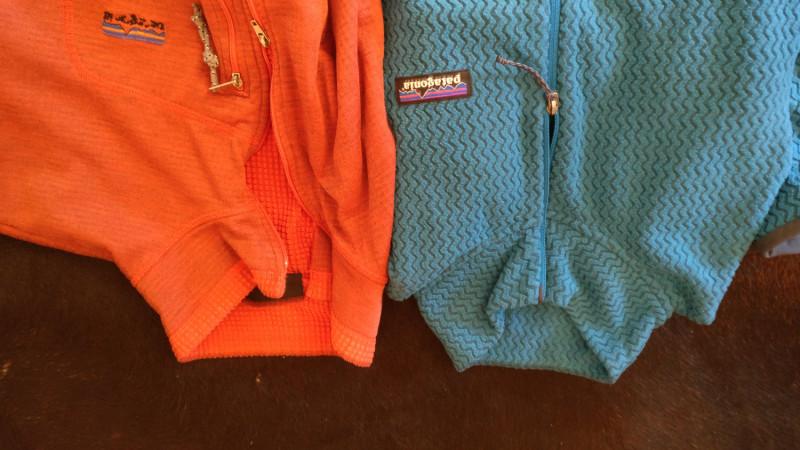 Image 1 from Klaus of Patagonia - Women's R1 Air Zip Neck - Fleece jumper