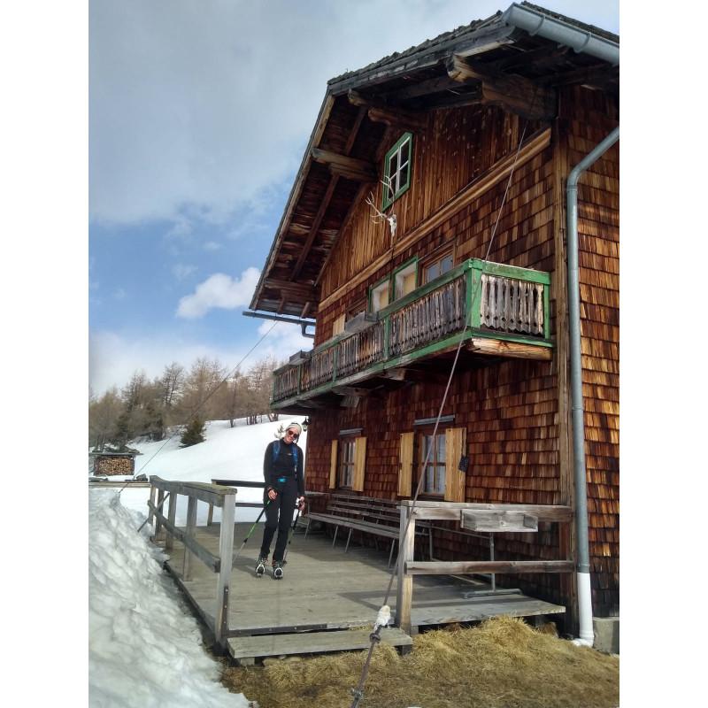 Image 1 from Franziska of Salomon - Women's X Alp Mid Leather GTX - Mountaineering boots