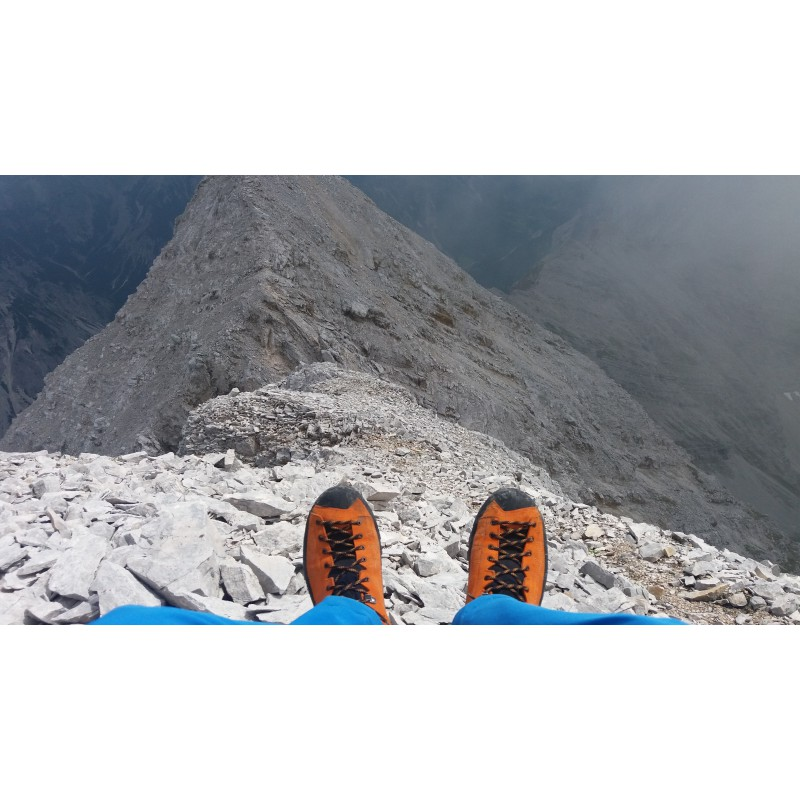 Image 1 from Andreas of Scarpa - Zodiac Tech GTX - Mountaineering boots