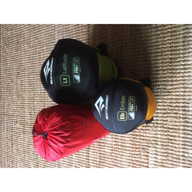 Image 1 from Jan of Sea to Summit - Ember Eb II - Down sleeping bag