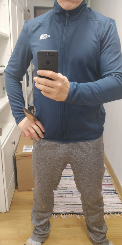 Image 1 from Cosmin of The North Face - Quest Fullzip Jacket - Fleece jacket