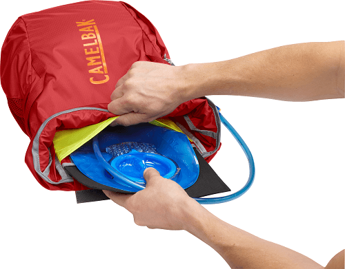 Backpack with hydration system