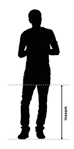How to measure your inside leg length